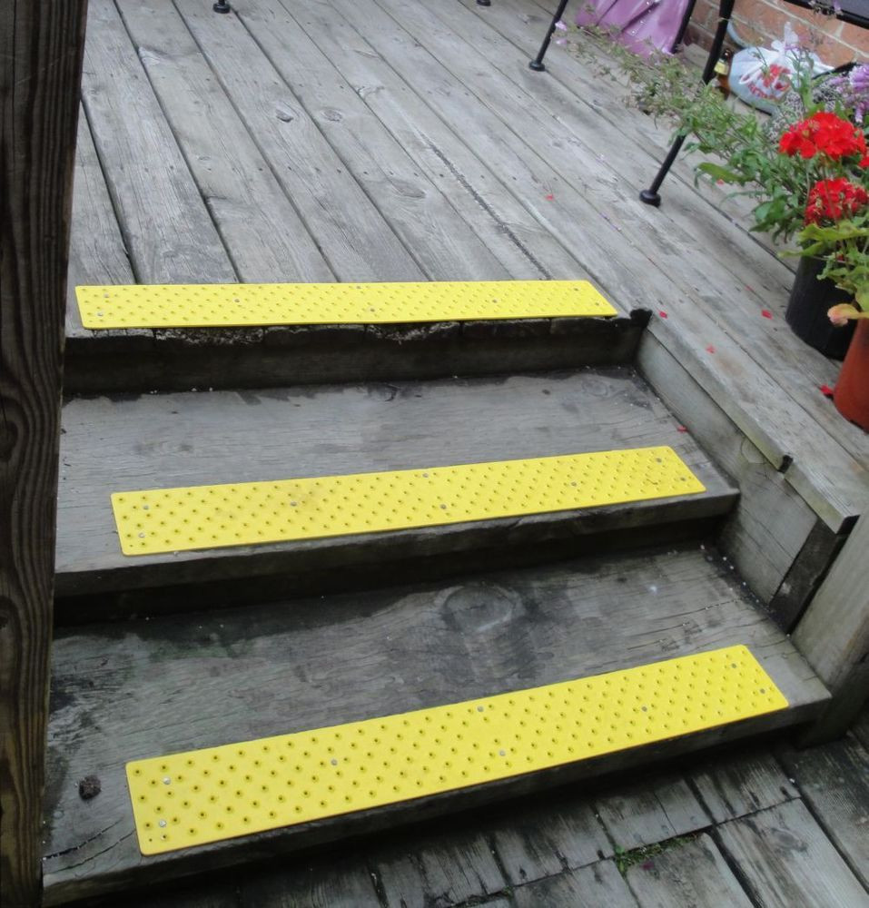 Best ideas about Non Slip Stair Treads . Save or Pin 5 Piece Kit Non Slip No Skid Aluminum Stair Tread w Now.