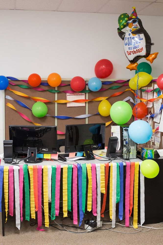 Best ideas about Office Birthday Decorations . Save or Pin Birthday Ideas For Cubicle At Work Now.