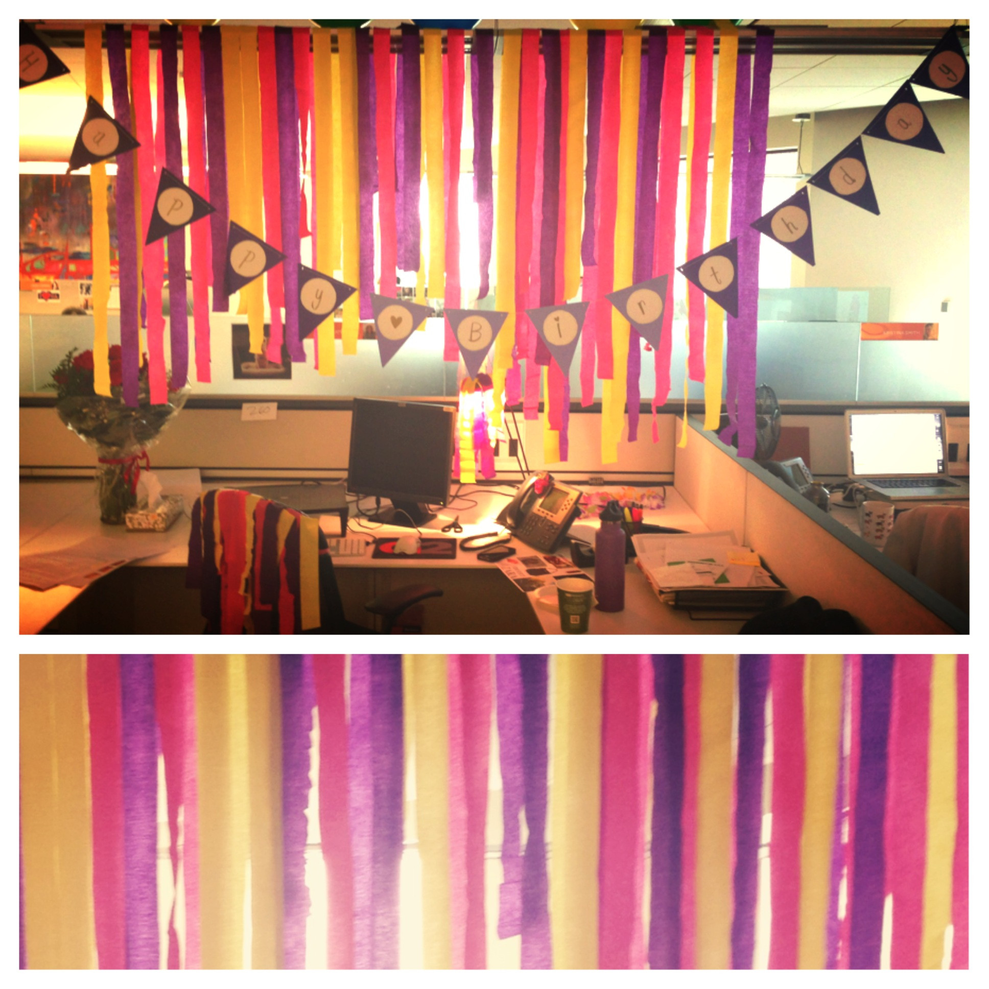 Best ideas about Office Birthday Decorations . Save or Pin Birthday Decoration In fice Modest Now.