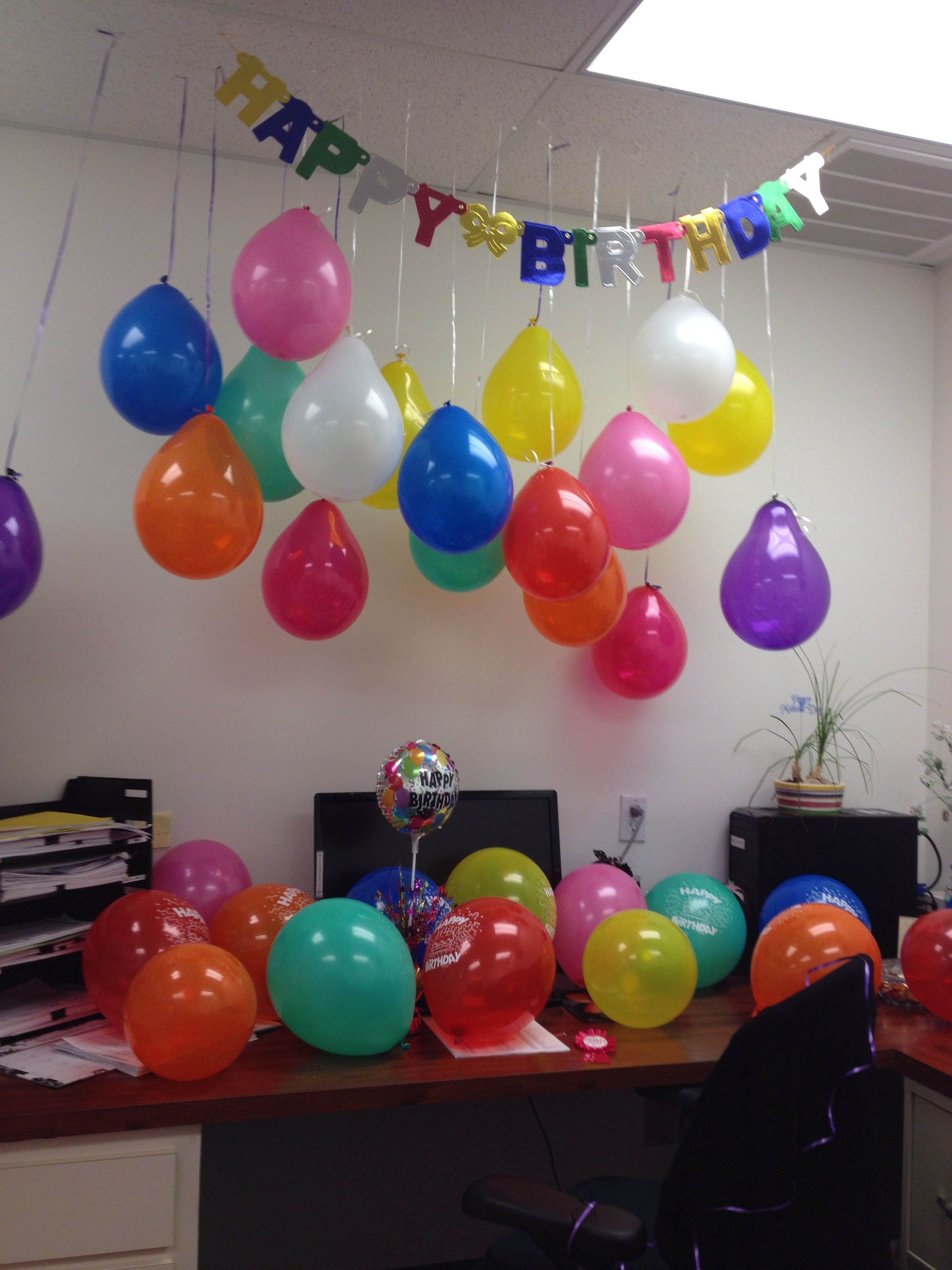 Best ideas about Office Birthday Decorations . Save or Pin Birthday decoration for an office Now.