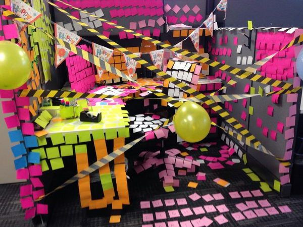 Best ideas about Office Birthday Decorations . Save or Pin 10 fice birthday ideas that don't involve sheet cake Now.