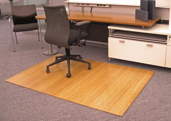Best ideas about Office Chair Floor Mat . Save or Pin Foldable Anji Bamboo Chair Mats are Bamboo Desk Chair Mats Now.