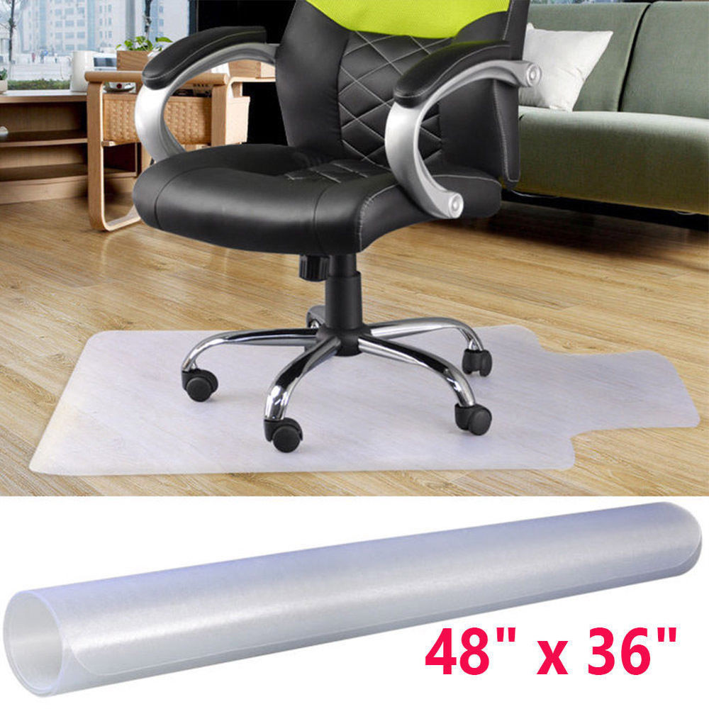 """Best ideas about Office Chair Floor Mat . Save or Pin 48"""" x 36"""" PVC Home fice Chair Floor Mat For Wood Tile Now."""