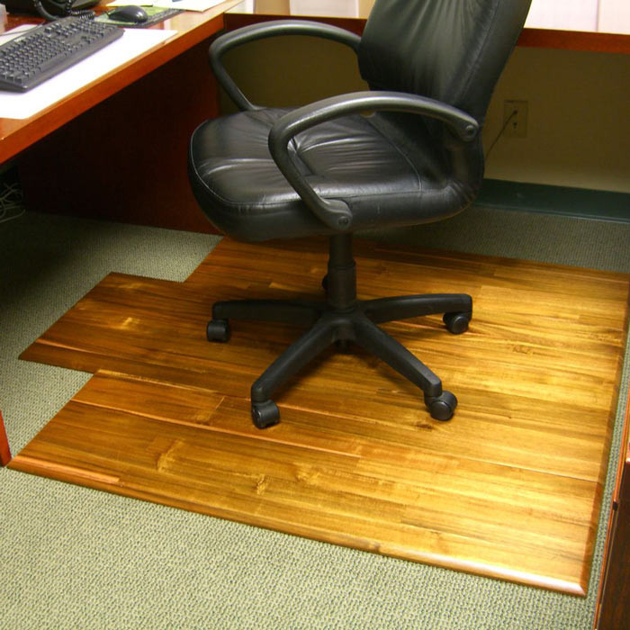 Best ideas about Office Chair Floor Mat . Save or Pin Hardwood fice Chair Mat The Green Head Now.