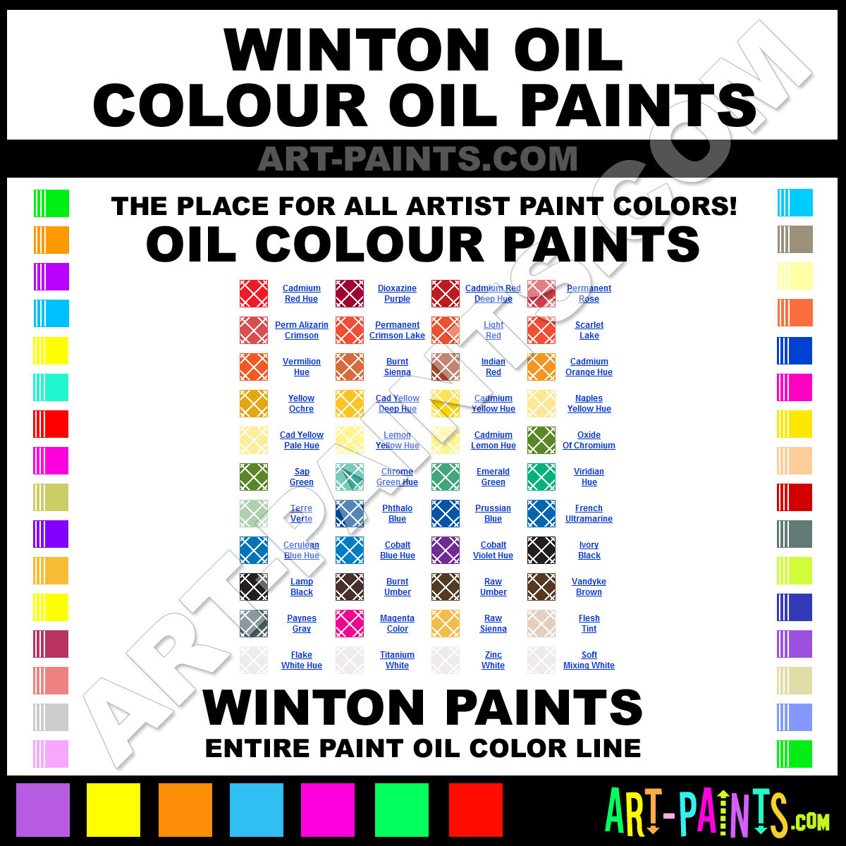 Best ideas about Oil Paint Colors . Save or Pin Winton Oil Colour Oil Paint Colors Winton Oil Colour Now.