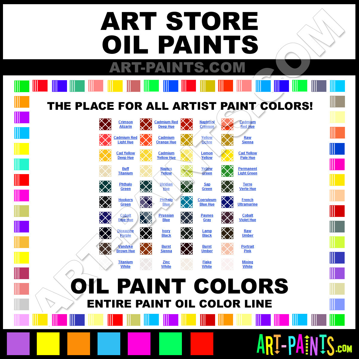Best ideas about Oil Paint Colors . Save or Pin The Art Store Oil Colors Oil Paint Colors The Art Store Now.