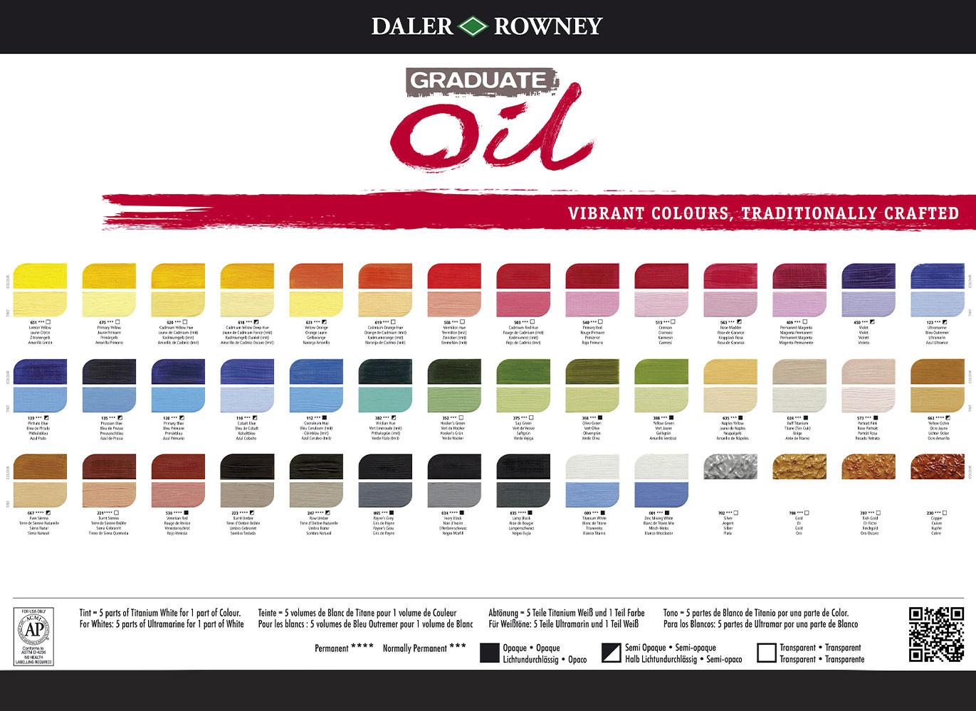Best ideas about Oil Paint Colors . Save or Pin Graduate Oil Paint Daler Rowney Array ArtSavingsClub Now.