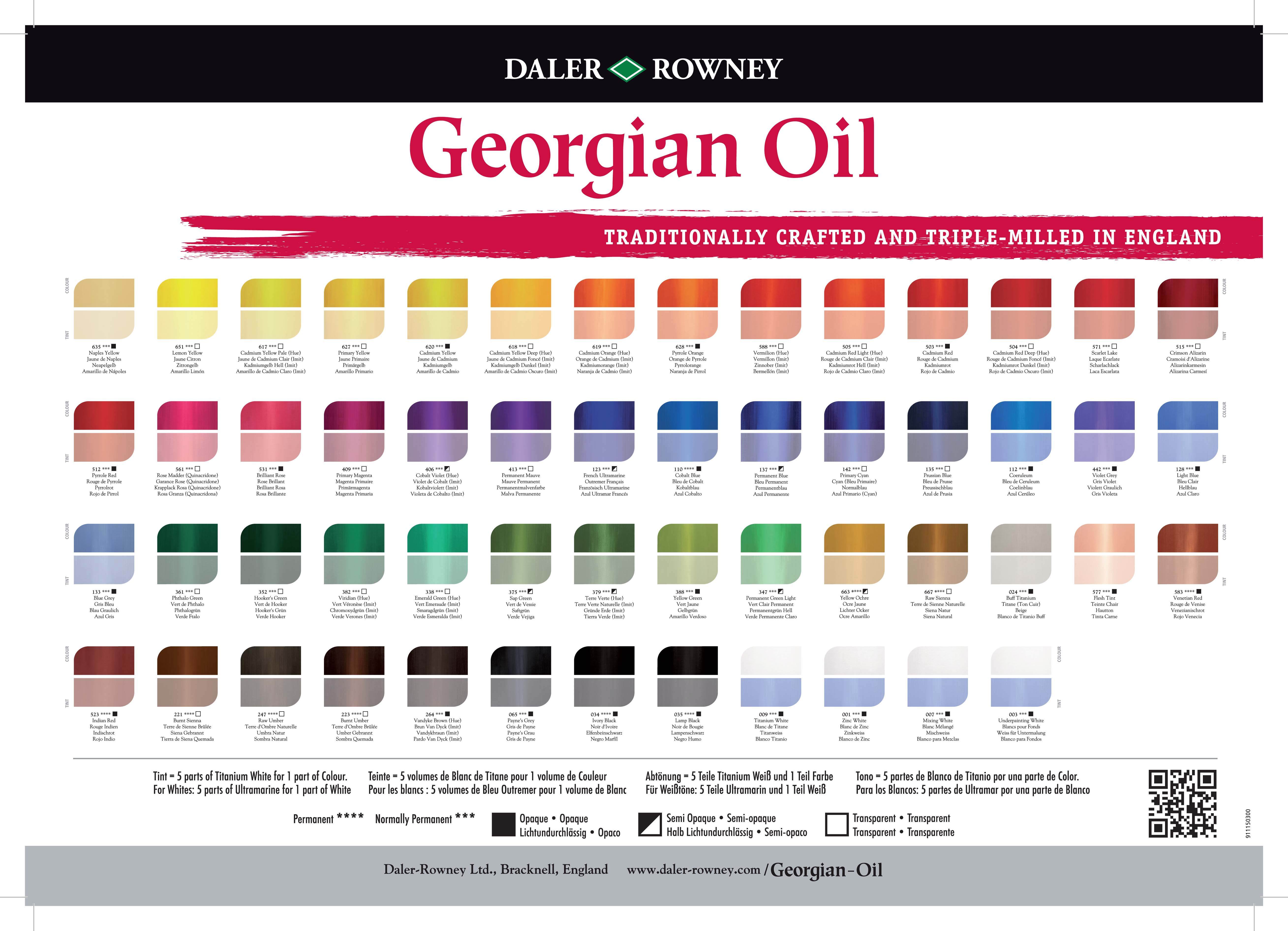 Best ideas about Oil Paint Colors . Save or Pin Georgian Oil Now.
