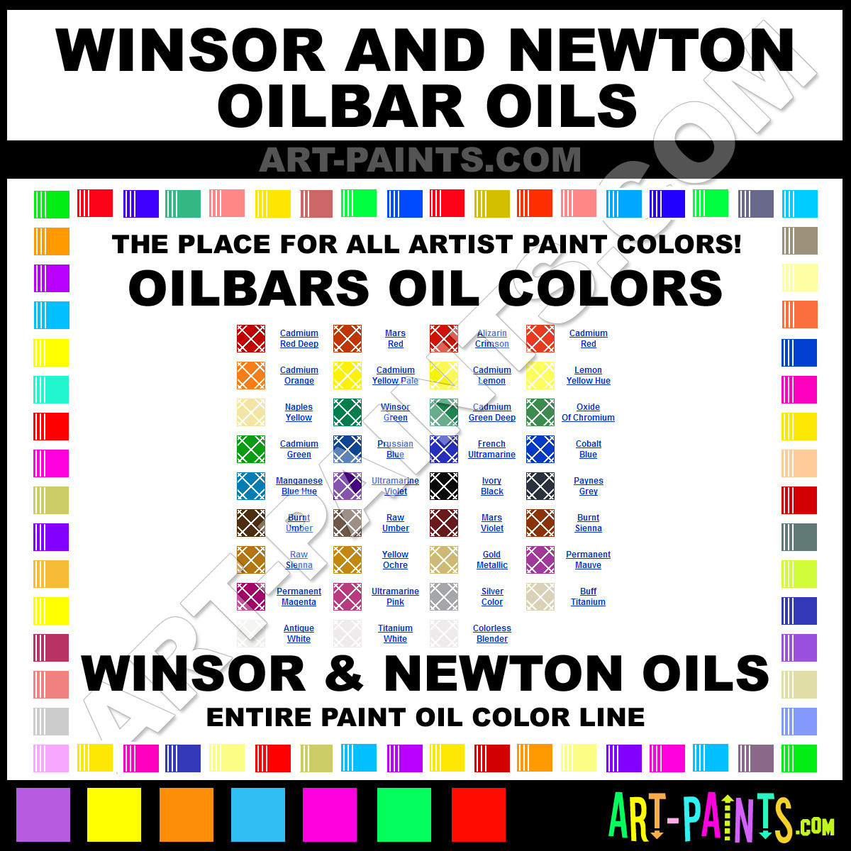 Best ideas about Oil Paint Colors . Save or Pin Winsor and Newton Oilbars Oil Paint Colors Winsor and Now.