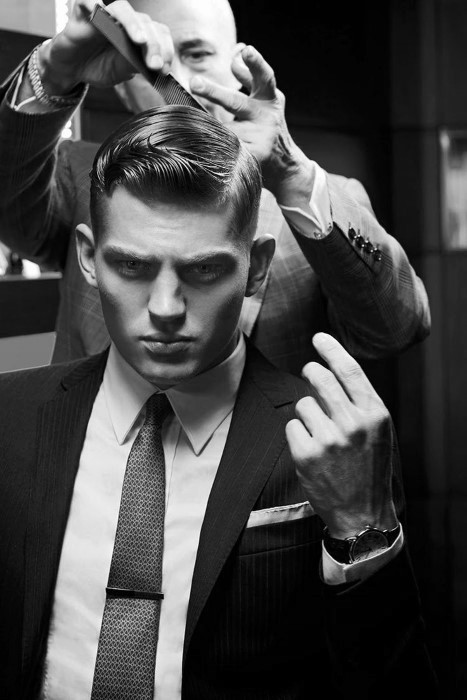 Best ideas about Old School Hairstyle . Save or Pin 60 Old School Haircuts For Men Polished Styles The Past Now.