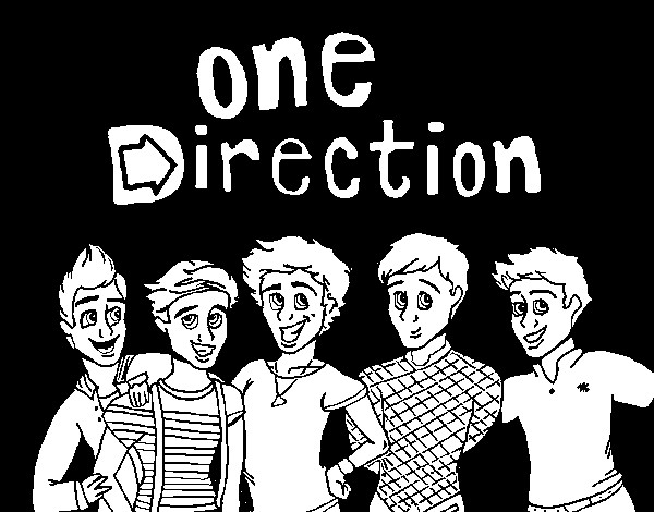 Best ideas about One Direction Free Coloring Pages . Save or Pin e Direction 3 coloring page Coloringcrew Now.