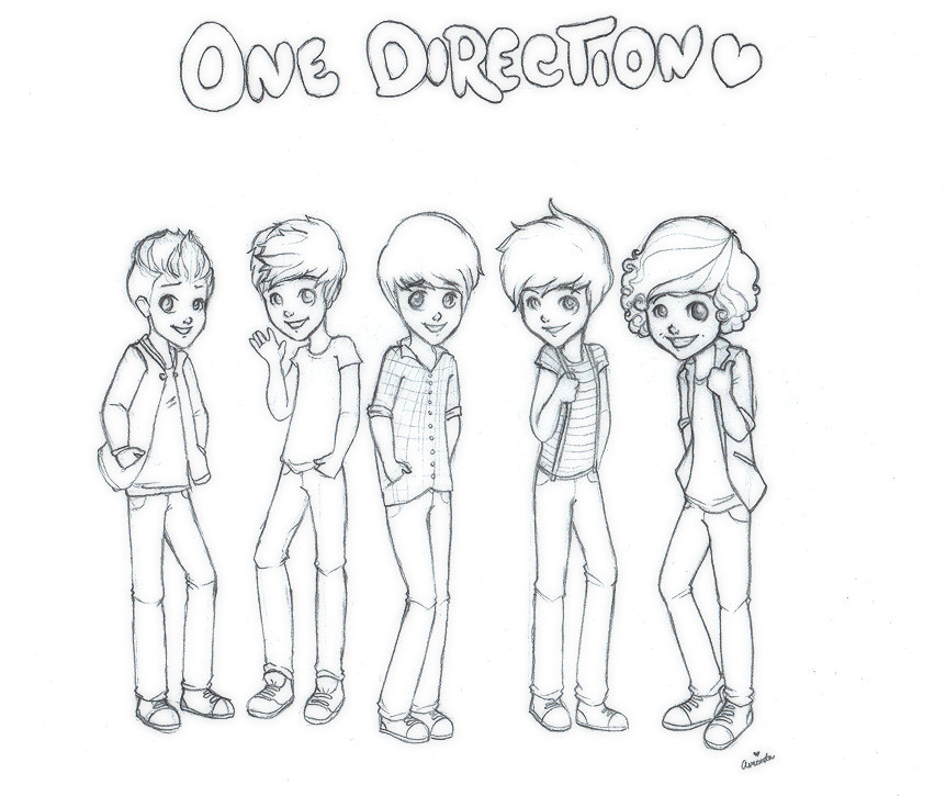 Best ideas about One Direction Free Coloring Pages . Save or Pin one direction pages one direction members one Now.