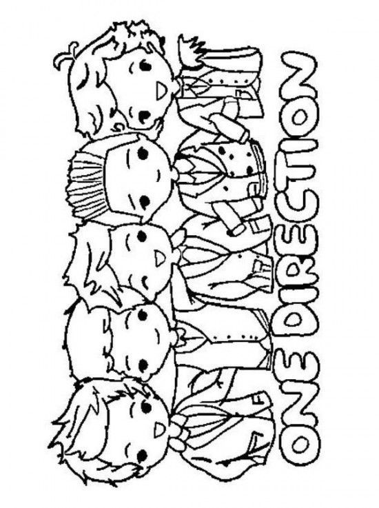 Best ideas about One Direction Free Coloring Pages . Save or Pin e Direction Printable Coloring Pages Coloring Home Now.