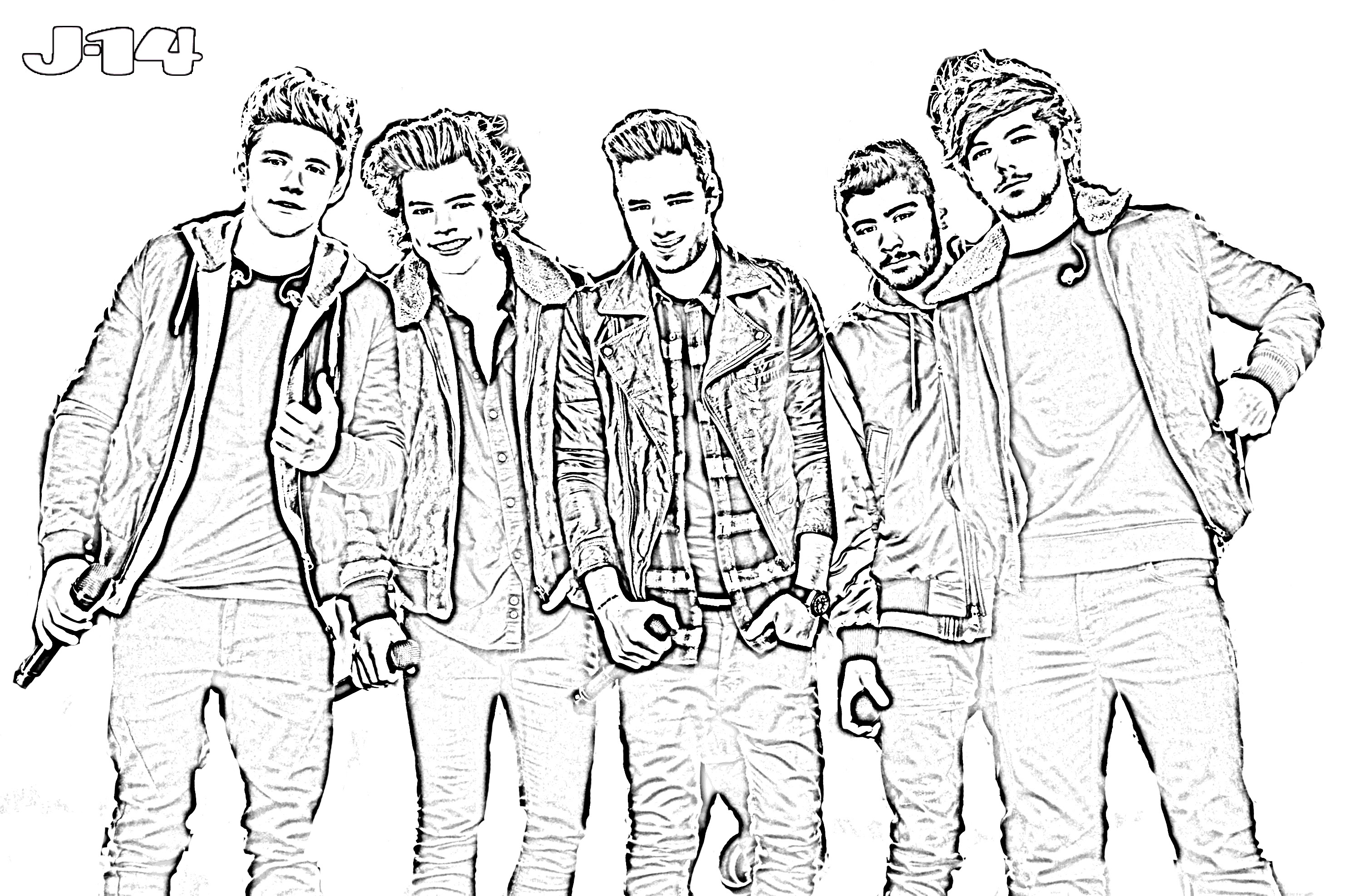 Best ideas about One Direction Free Coloring Pages . Save or Pin I printable dei e Direction tutti da stampare e colorare Now.