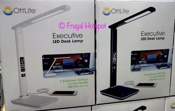 Best ideas about Ottlite Executive Desk Lamp . Save or Pin Costco Sale OttLite Executive LED Desk Lamp $19 99 Now.
