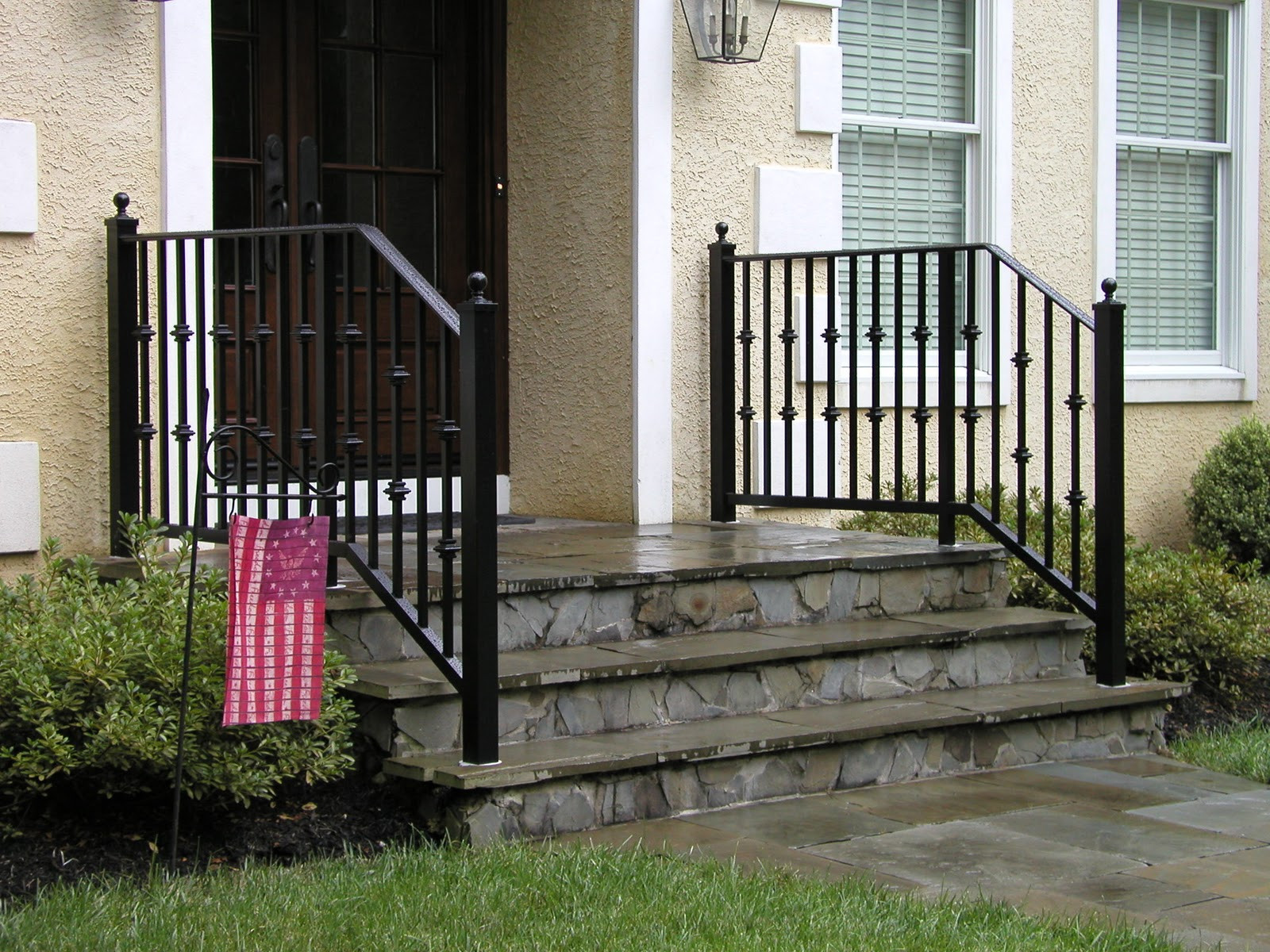 Best ideas about Outdoor Metal Stair Railing . Save or Pin Best Choice Exterior Stair Railing Founder Stair Design Now.