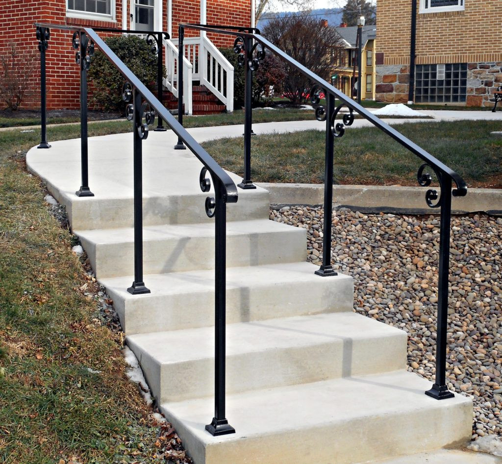 Best ideas about Outdoor Metal Stair Railing . Save or Pin Railings Archives Antietam Iron Works Now.