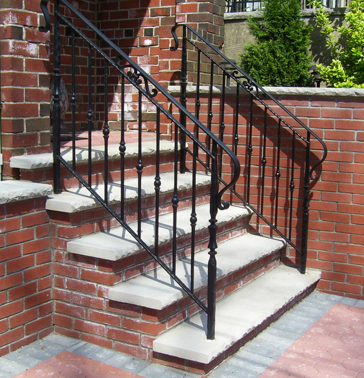 Best ideas about Outdoor Metal Stair Railing . Save or Pin wrought iron outdoor stair railings How To Select The Now.