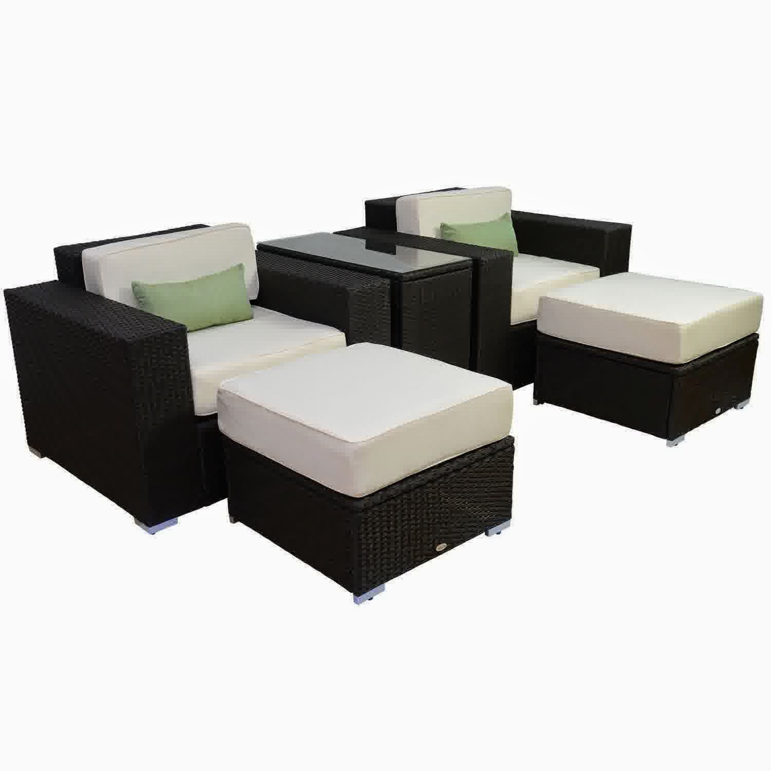 Best ideas about Outsunny Patio Furniture . Save or Pin Discount Until Outsunny 5pc Outdoor PE Rattan Wicker Now.