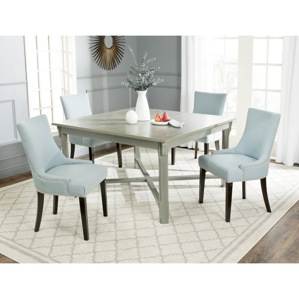 Best ideas about Overstock Dining Table . Save or Pin Safavieh Bleeker Ash Grey Dining Table Free Shipping Now.