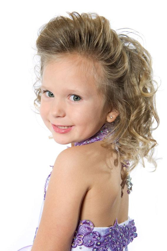 Best ideas about Pageant Hairstyles For Kids . Save or Pin Little Girl Pageant Hairstyles For Short Hair HairStyles Now.