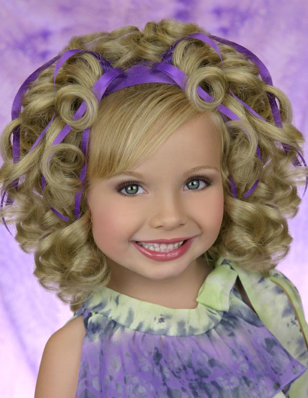 Best ideas about Pageant Hairstyles For Kids . Save or Pin 17 Best images about Pageant hairstyles for girls on Pinterest Now.