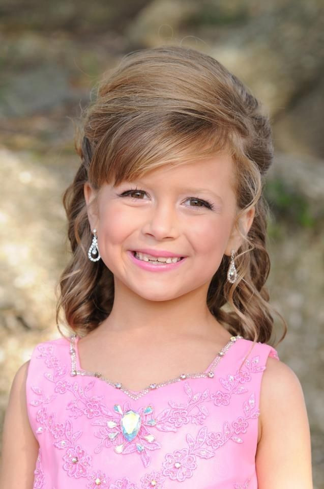 Best ideas about Pageant Hairstyles For Kids . Save or Pin Hair and make up for pageant Now.