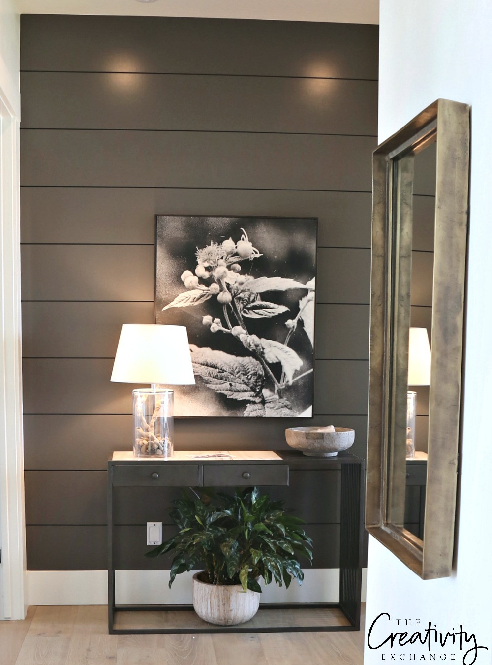 Best ideas about Painting Accent Walls . Save or Pin Painted Shiplap Accent Walls in Rich Colors Now.