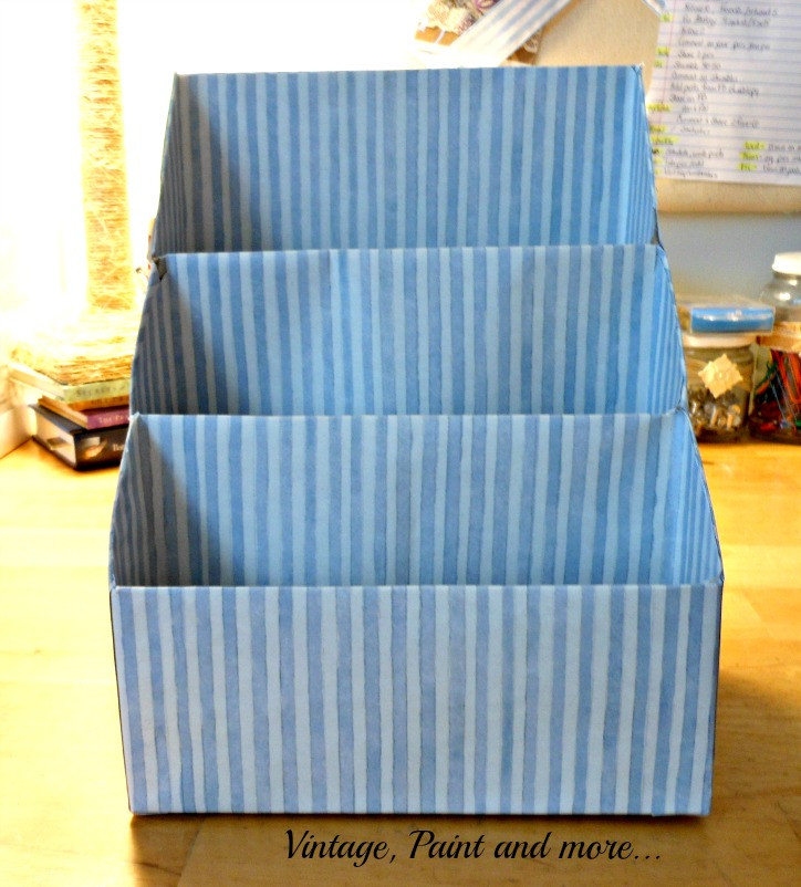 Best ideas about Paper Organizer DIY . Save or Pin DIY Paper Organizer Now.