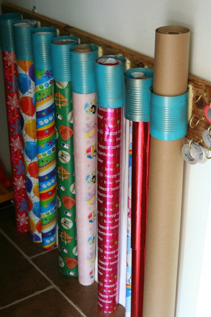 Best ideas about Paper Organizer DIY . Save or Pin DIY wrapping paper organizer Now.