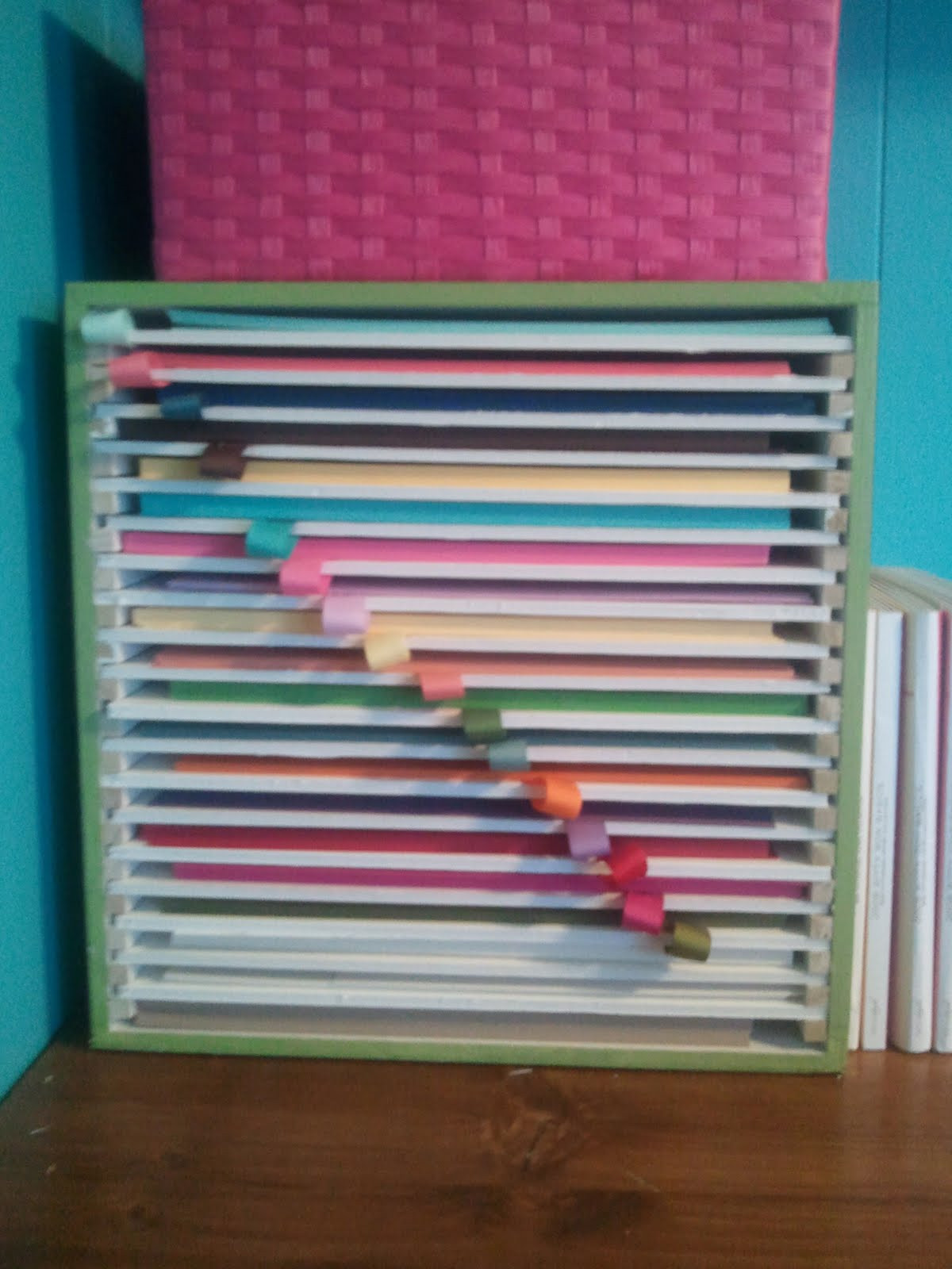 Best ideas about Paper Organizer DIY . Save or Pin CRAFTY STORAGE Amy s Awesome Paper Storage Idea Now.