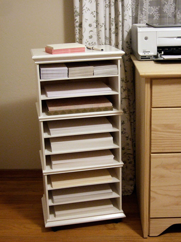 Best ideas about Paper Organizer DIY . Save or Pin Three Ikea mini chests = paper organizer Crafty Nest Now.