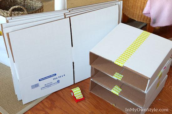 Best ideas about Paper Organizer DIY . Save or Pin DIY Scrapbook Paper Organizer Now.