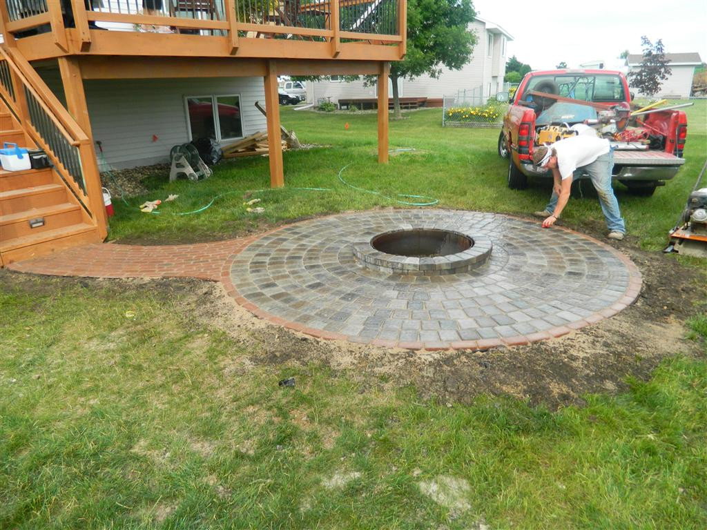 Best ideas about Patio Fire Pit . Save or Pin Stone fire pit ideas Rosemount MN Now.