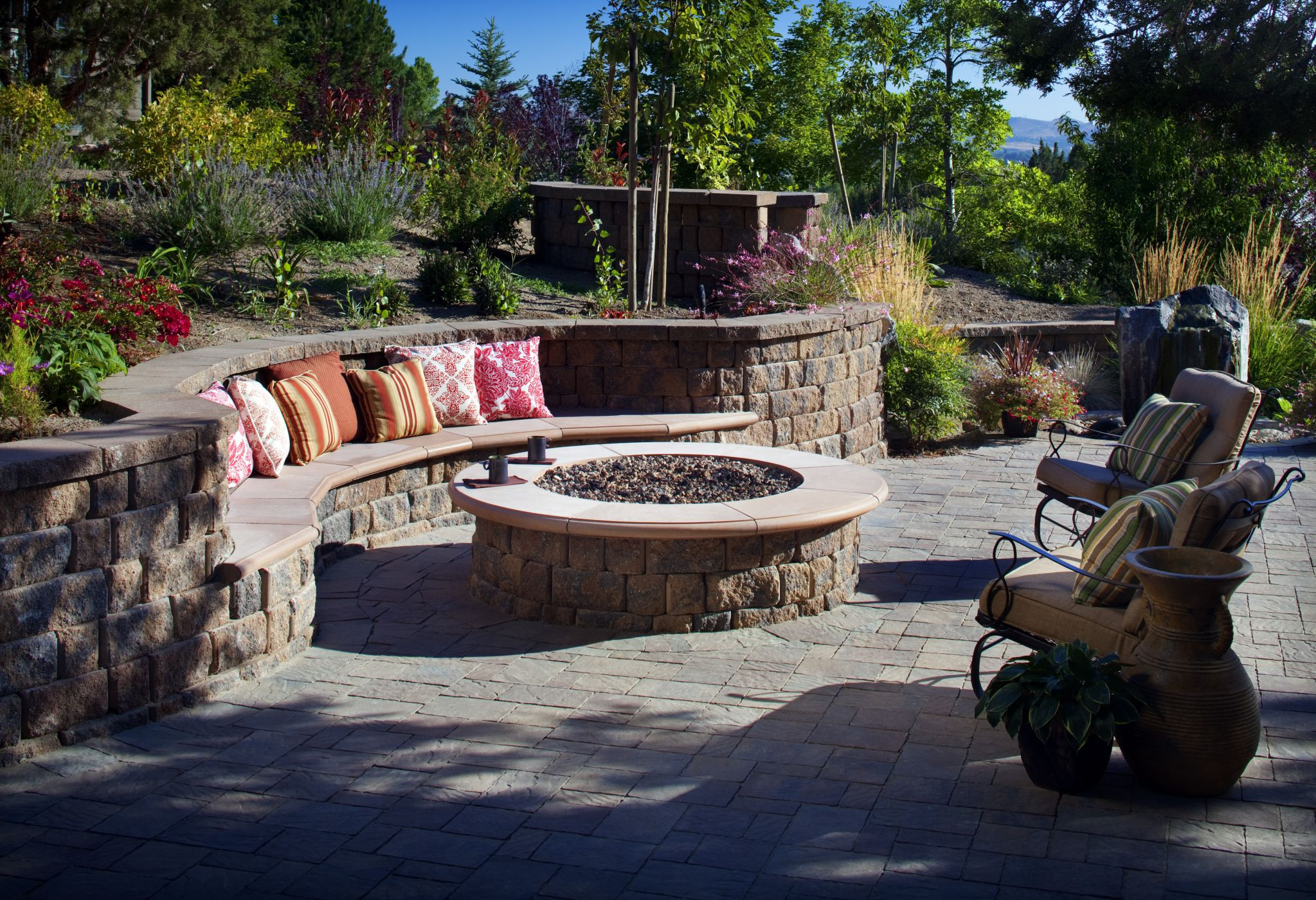 Best ideas about Patio Fire Pit . Save or Pin How to Create Fire Pit on Yard Simple Backyard Fire Pit Now.