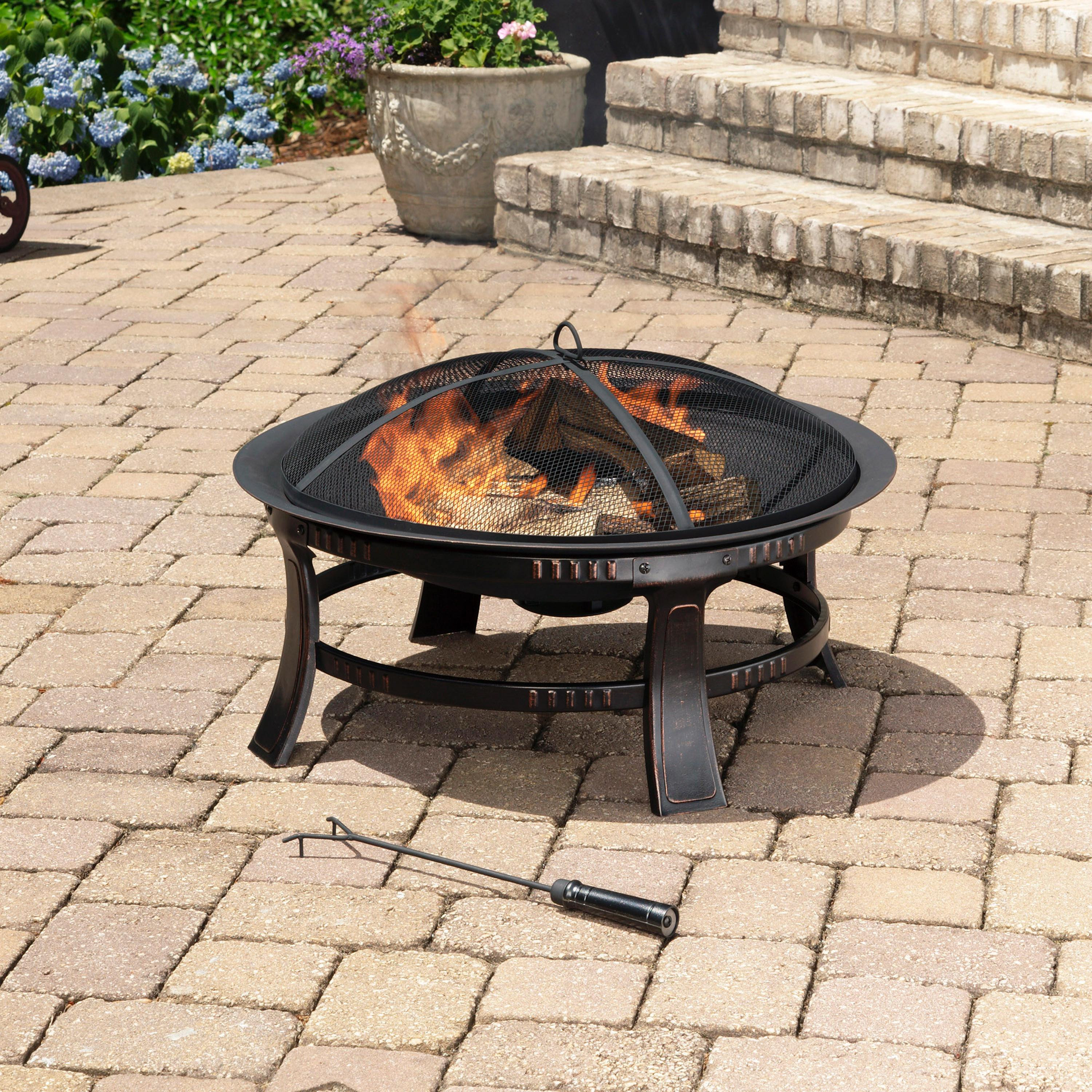 Best ideas about Patio Fire Pit . Save or Pin Amazon Brant Wood Burning Circular Fire Pit in Now.