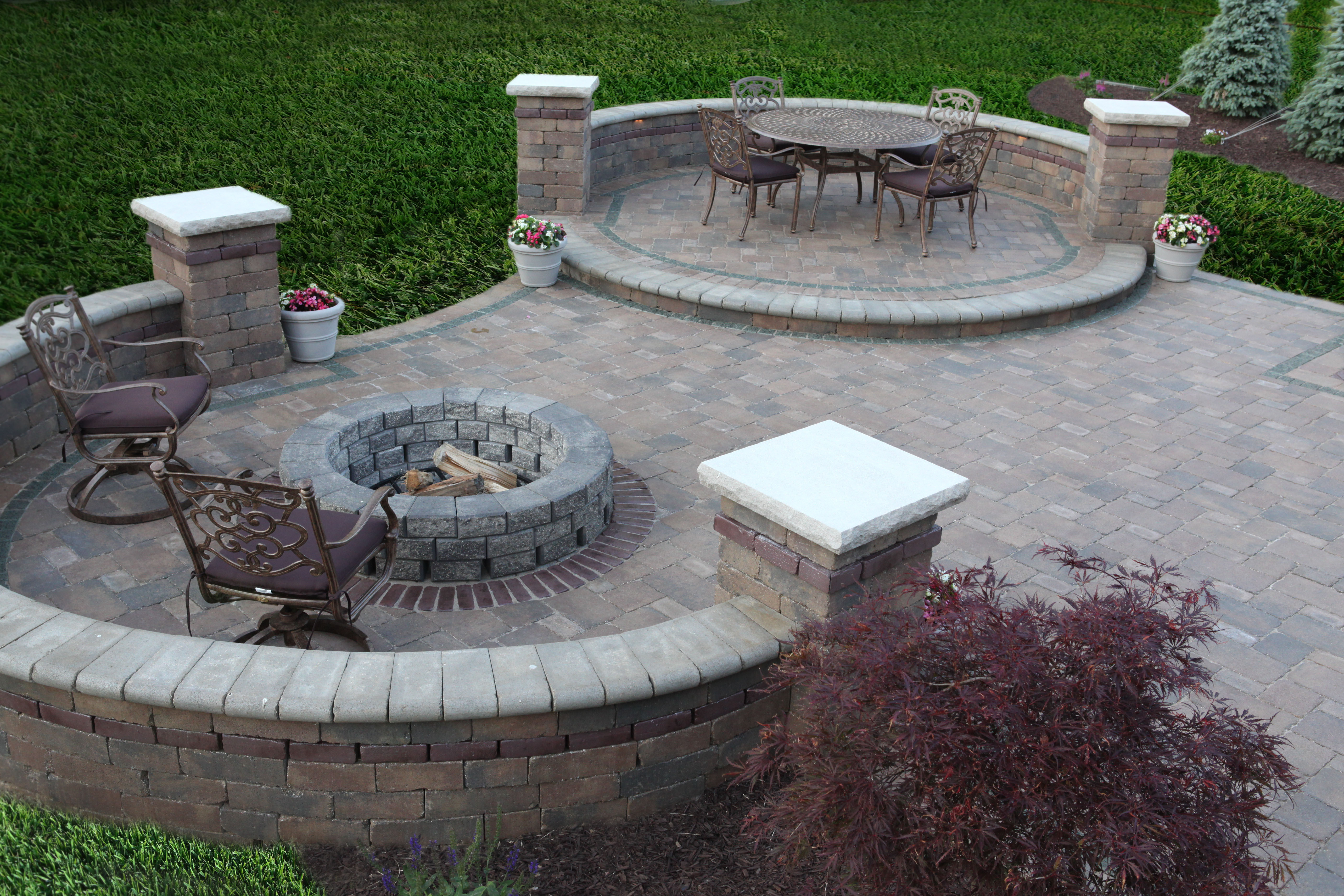 Best ideas about Patio Fire Pit . Save or Pin Baron Landscaping Outdoor Fireplace Contractor Now.