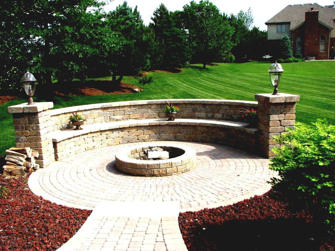 Best ideas about Patio Fire Pit . Save or Pin Build Your Own Stone Fire Pit In Ground Ideas What To Put Now.