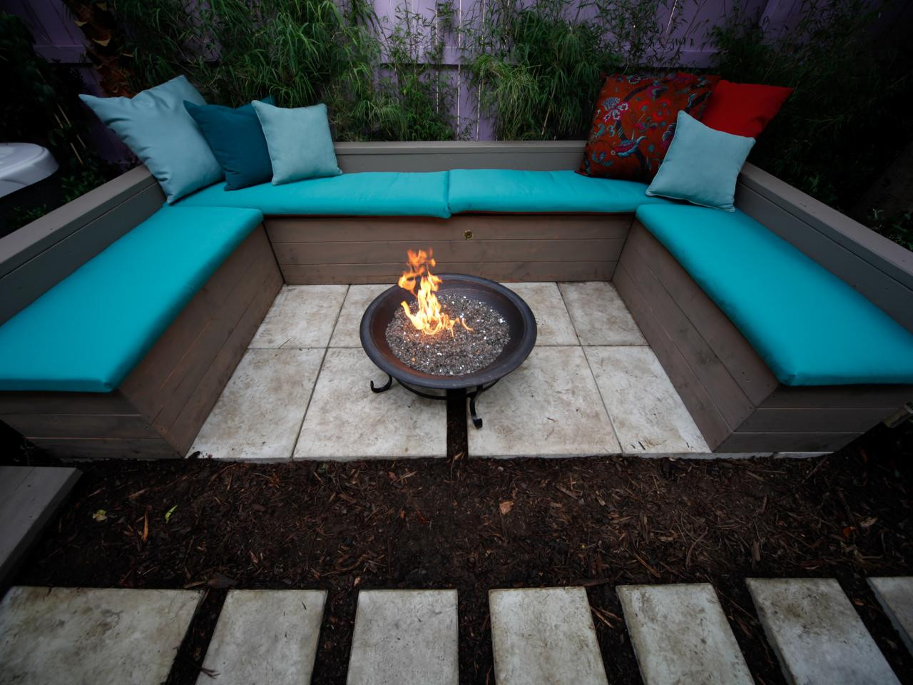 Best ideas about Patio Fire Pit . Save or Pin In Ground Fire Pit Design Juggles Cold Outdoor into a Warm Now.