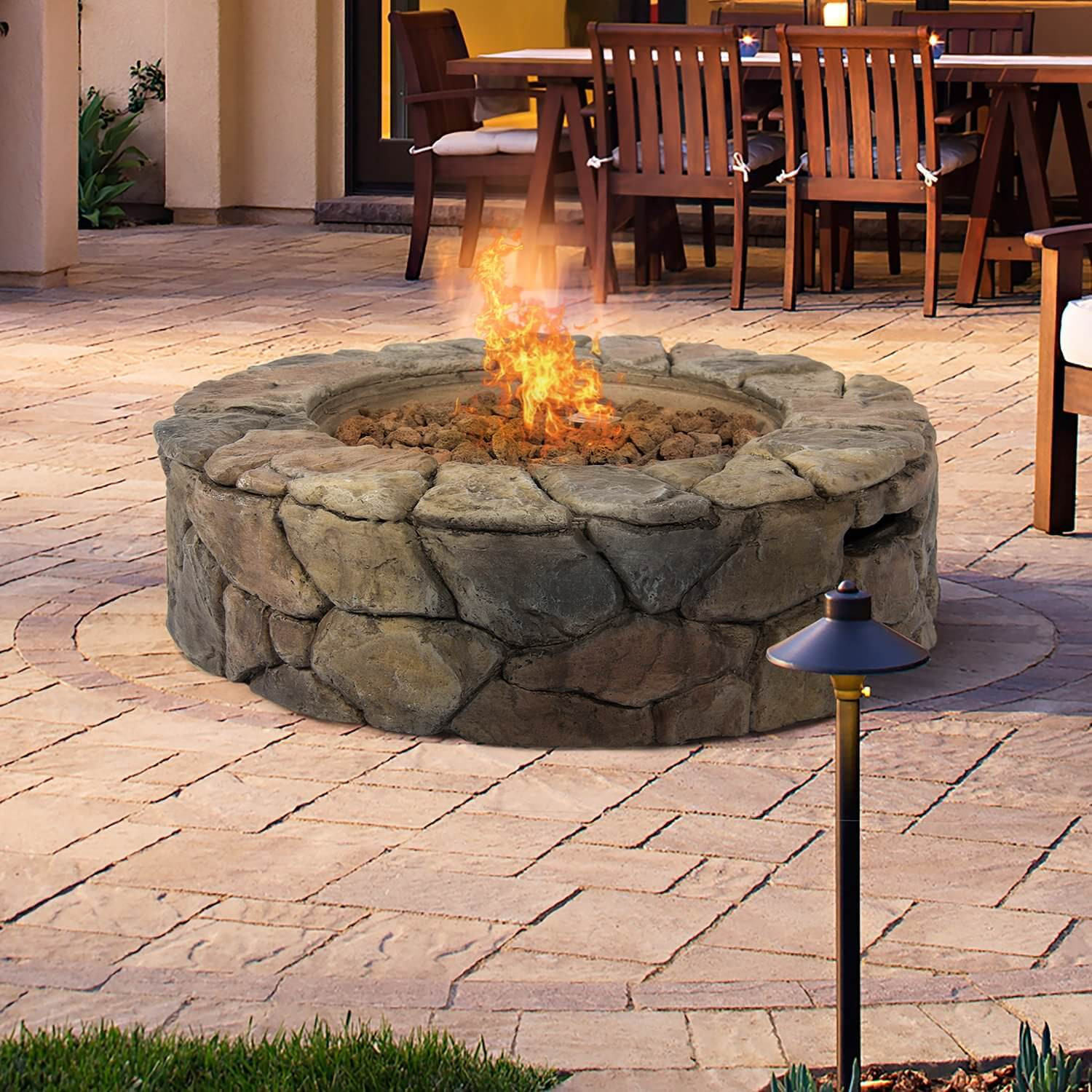 Best ideas about Patio Fire Pit . Save or Pin Top 15 Types of Propane Patio Fire Pits with Table Buying Now.