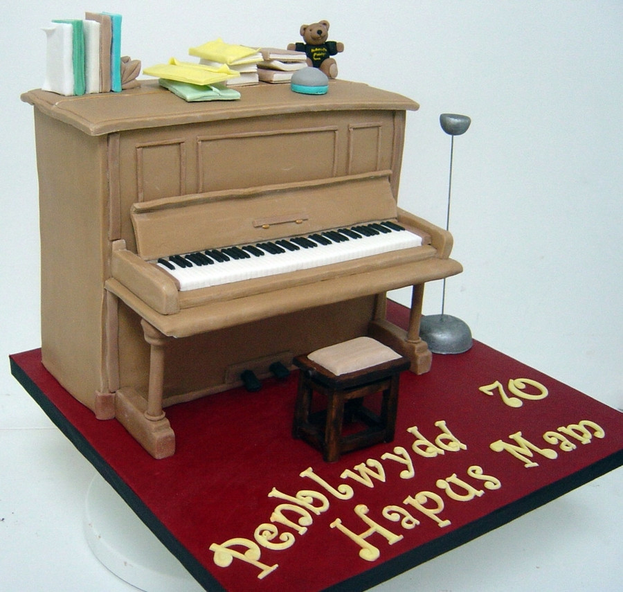 Best ideas about Piano Birthday Cake . Save or Pin Upright Piano Cake CakeCentral Now.