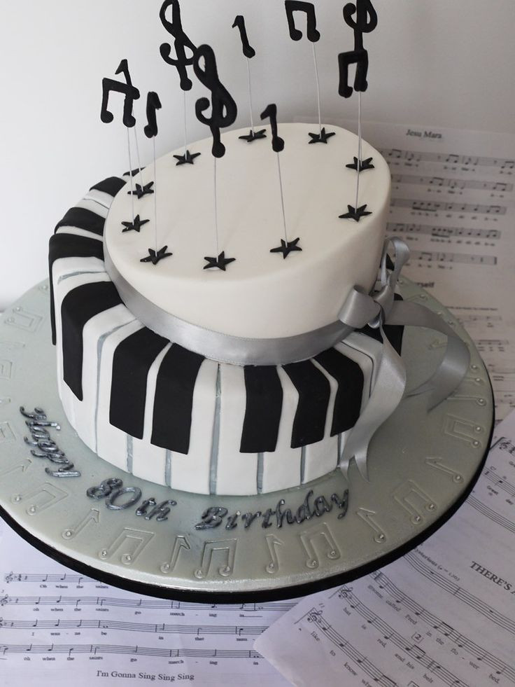 Best ideas about Piano Birthday Cake . Save or Pin 18 best images about piano cakes on Pinterest Now.