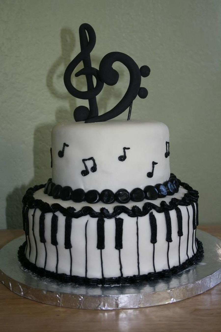 Best ideas about Piano Birthday Cake . Save or Pin Piano Recital Cake CakeCentral Now.