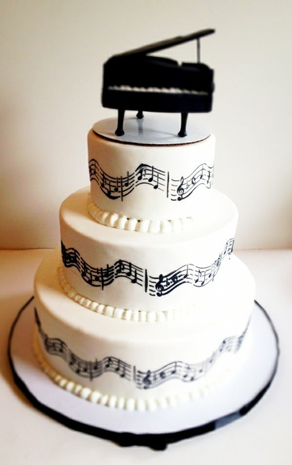 Best ideas about Piano Birthday Cake . Save or Pin 40 Tasty Music Cakes For Real Music Lovers – Fresh Design Now.