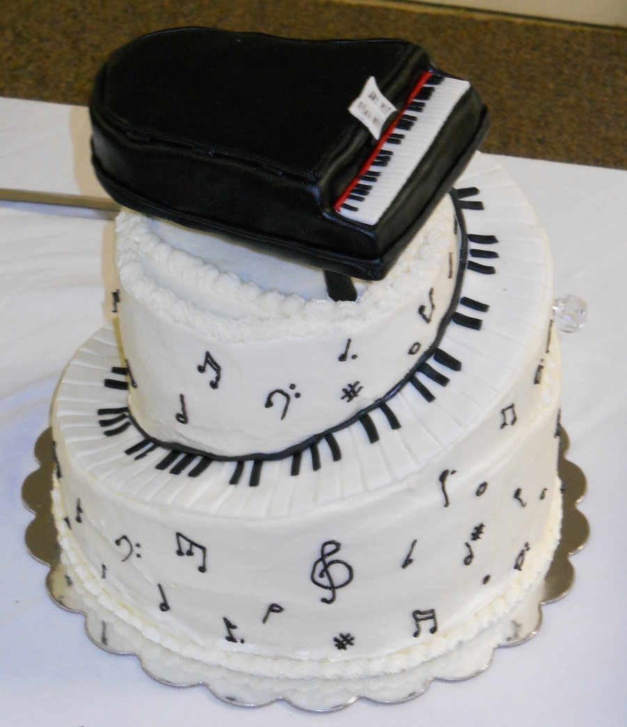 Best ideas about Piano Birthday Cake . Save or Pin Piano Cake CakeCentral Now.
