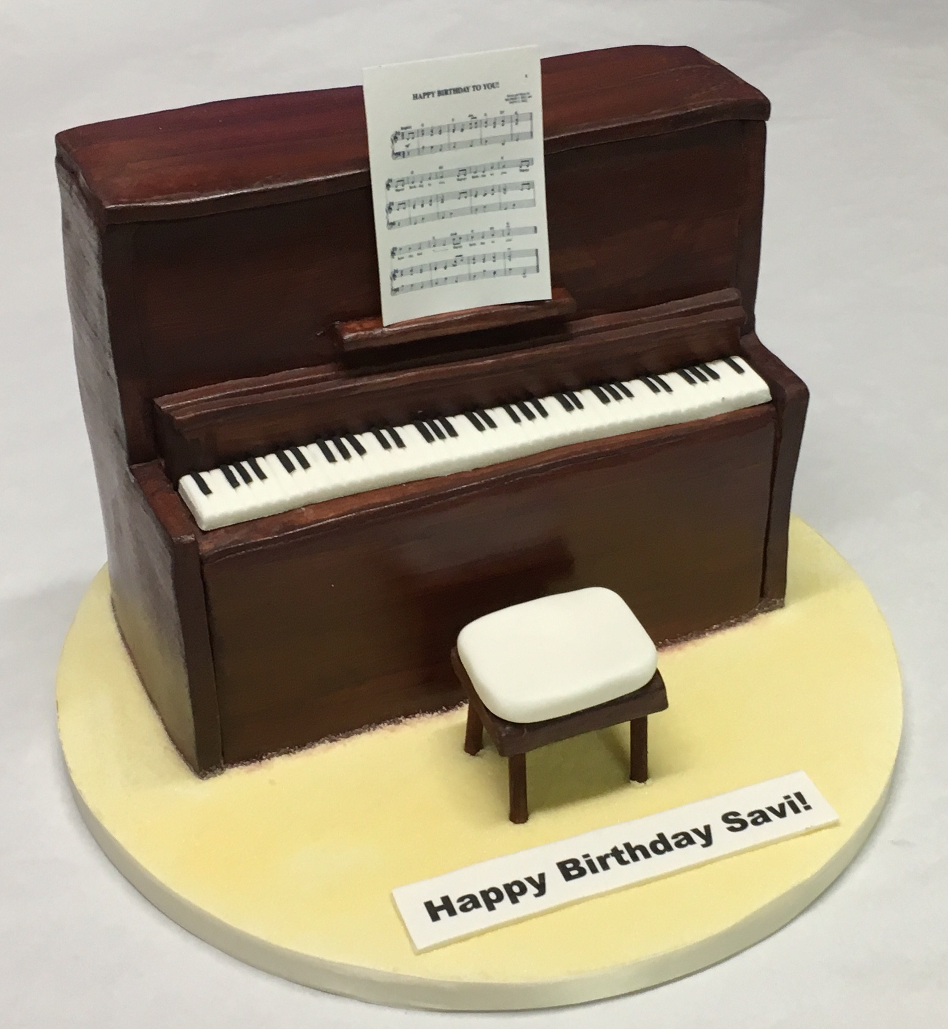 Best ideas about Piano Birthday Cake . Save or Pin Upright Piano Cake Girls Birthday Cakes Celebration Now.