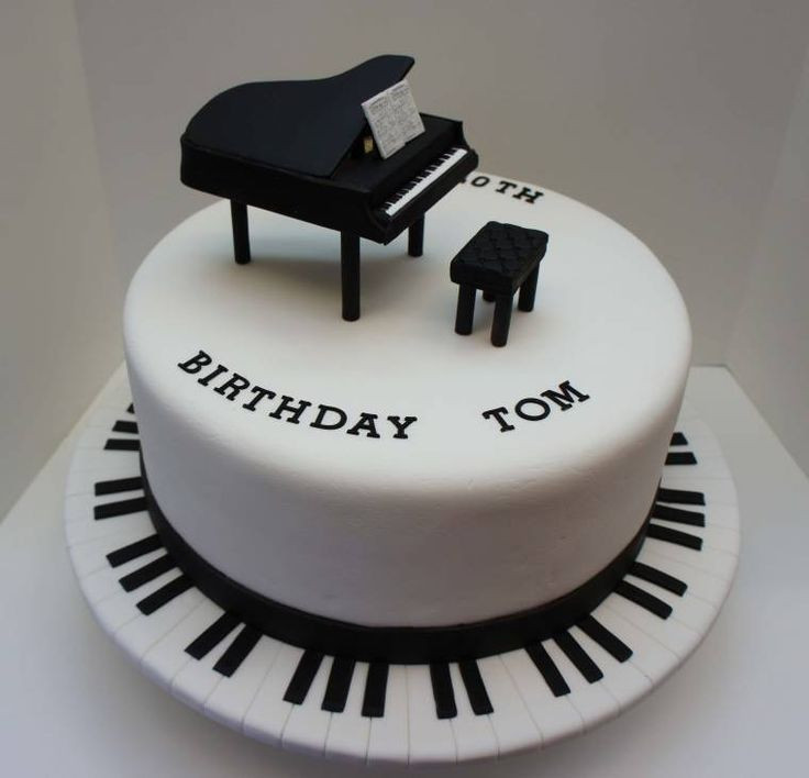Best ideas about Piano Birthday Cake . Save or Pin 25 best ideas about Piano cakes on Pinterest Now.