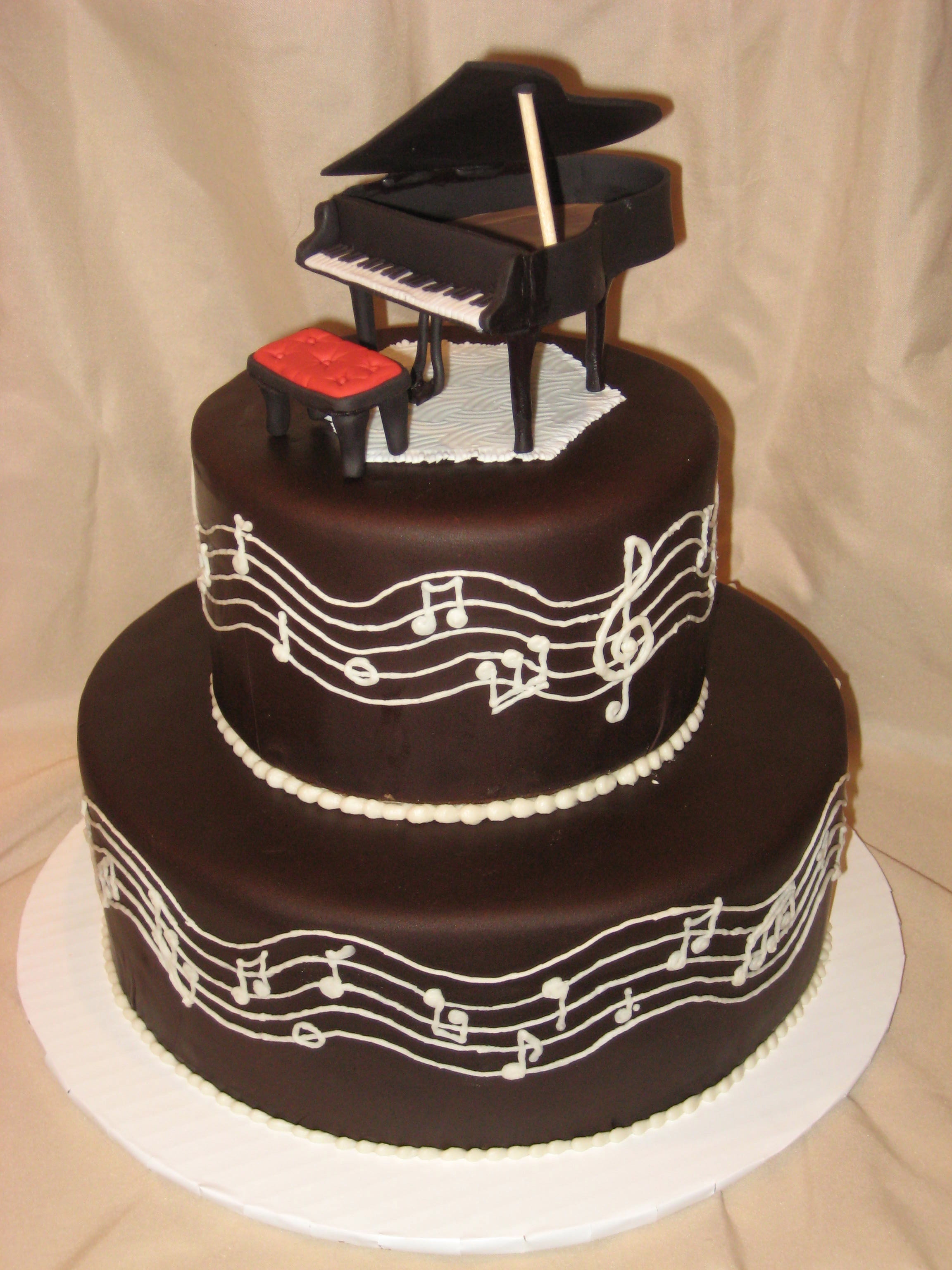 Best ideas about Piano Birthday Cake . Save or Pin The Piano Cake Now.