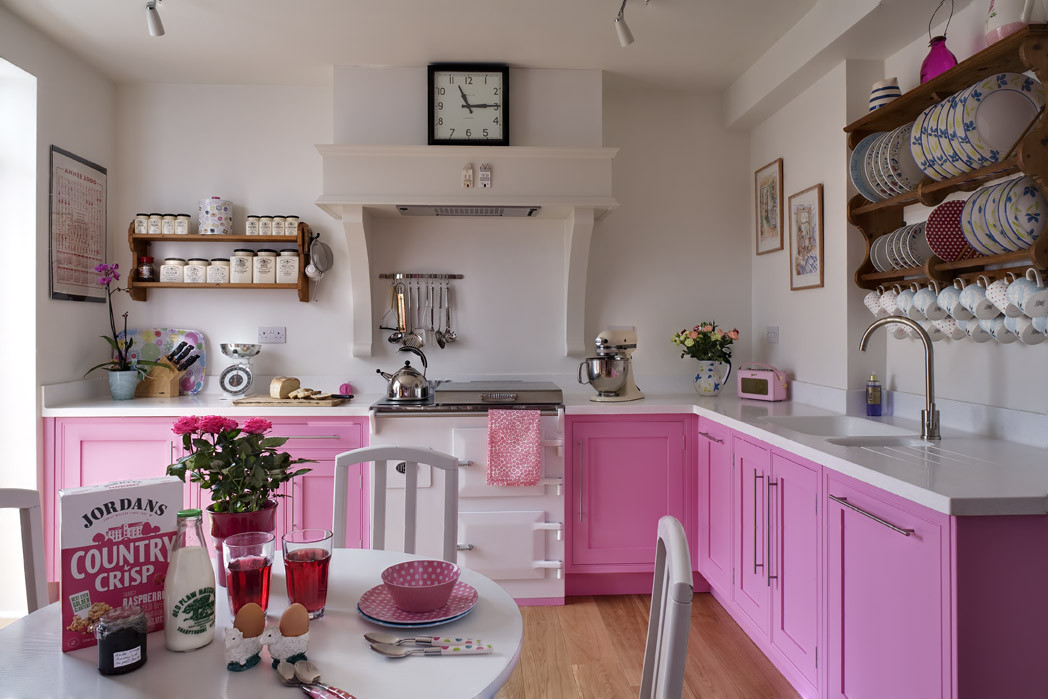 Best ideas about Pink Kitchen Decor . Save or Pin Decor me Happy by Elle Uy Go for the Pink kitchens Now.