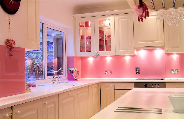 Best ideas about Pink Kitchen Decor . Save or Pin Good Glam Pink Kitchens Now.